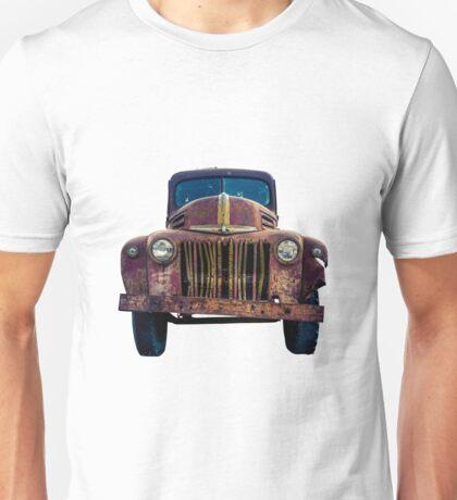 Rusty Ford Pickup Truck Unisex T-Shirt