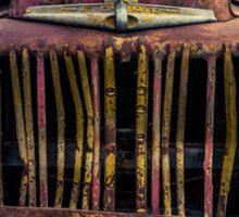 Rusty Ford Pickup Truck Sticker