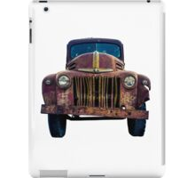 Rusty Ford Pickup Truck iPad Case/Skin