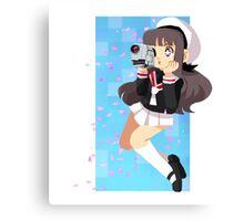 Sakura's wind Canvas Print