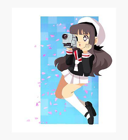 Sakura's wind Photographic Print