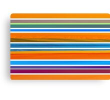 Colorful Striped Seamless Pattern Canvas Print