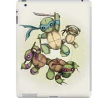 TEENAGE MUTANT NINJA PLUSHIES iPad Case/Skin