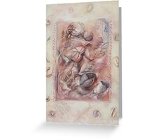 Organic Co-existence Greeting Card