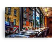 Bristol Cafe Canvas Print