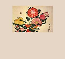 'Chrysanthemum and Bee' by Katsushika Hokusai (Reproduction) T-Shirt