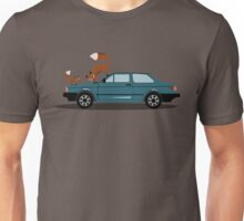 Foxes on a Fox Unisex T-Shirt