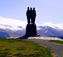Commando Memorial by Citril