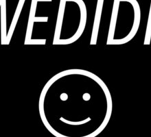 wedidit Sticker
