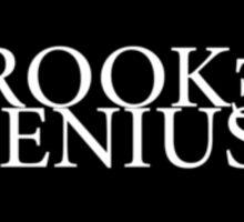 Crooked Genius Line Sticker