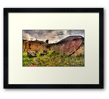 Goliaths Shield - Furnace Park, Lithgow NSW Australia - The HDR Exxperience Framed Print