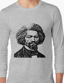 Frederick Douglass Long Sleeve T-Shirt