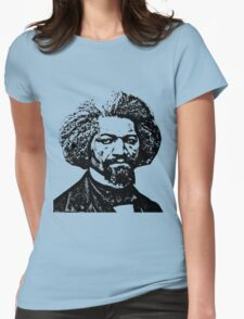 Frederick Douglass Womens Fitted T-Shirt