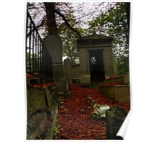 Fall in Pere Lachaise Poster