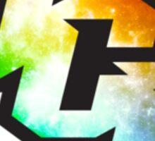 UCF Trippy Galaxy Logo Sticker