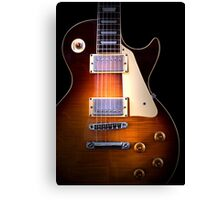 Curvaceous Guitar Canvas Print