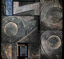 Type Blocks by Robert Baker