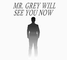 Mr. Grey Will See You Now Womens Fitted T-Shirt
