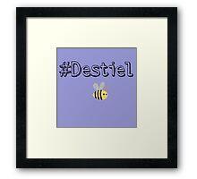 #Destiel Framed Print