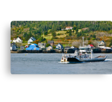 Ferry Across Petit Passage (with apologies) Canvas Print