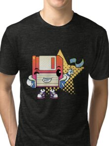 Old School! Tri-blend T-Shirt