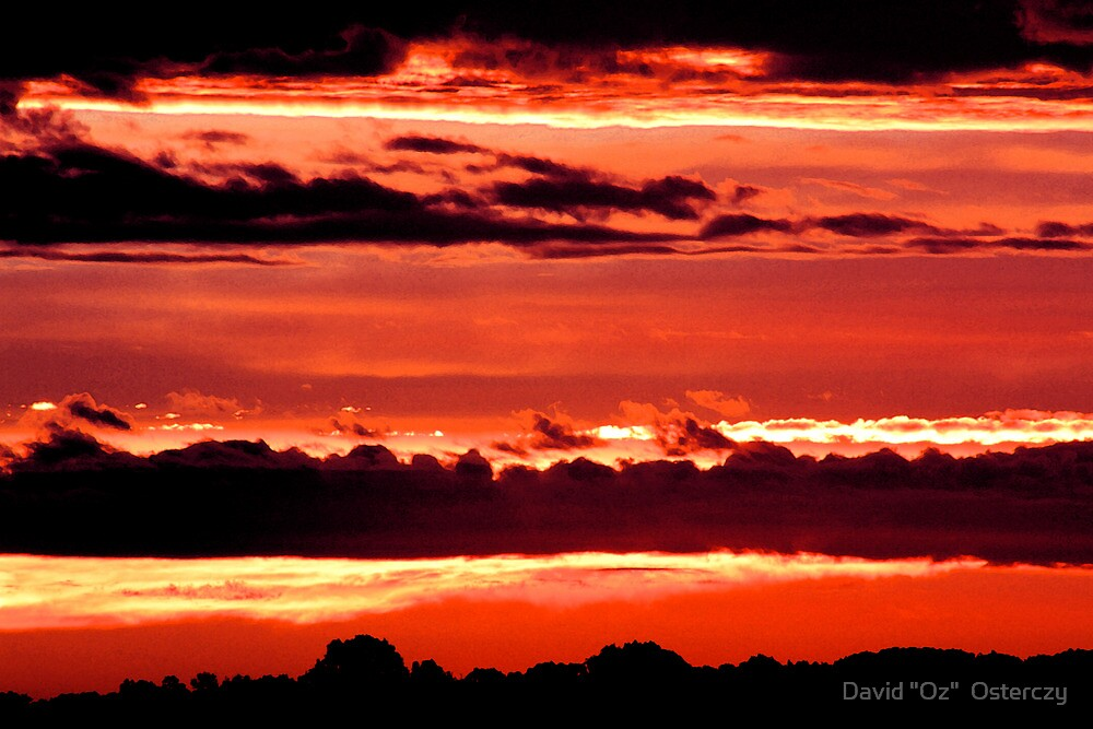 """Fresco Clouds by David """"Oz""""  Osterczy"""