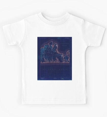 Massachusetts  USGS Historical Topo Map MA Marthas Vineyard 352841 1894 62500 Inverted Kids Tee