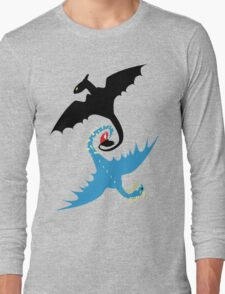 How to Train Your Dragon - Toothless and Stormfly Long Sleeve T-Shirt