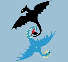 How to Train Your Dragon - Toothless and Stormfly Unisex T-Shirt