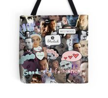 Moriarty (Collage) Tote Bag