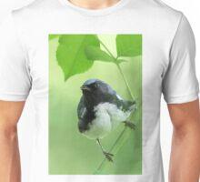 Black-throated Blue Warbler Unisex T-Shirt