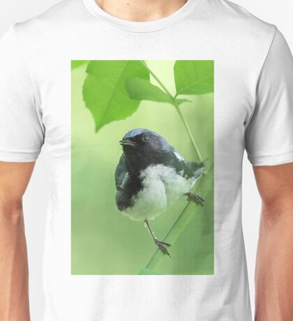 Black-throated Blue Warbler Unisex T-Shirt