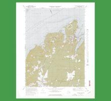 Massachusetts  USGS Historical Topo Map MA Vineyard Haven 351380 1972 25000 Kids Tee