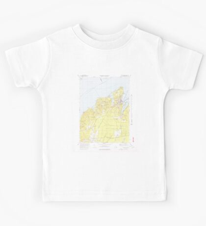 Massachusetts  USGS Historical Topo Map MA Vineyard Haven 351380 1972 25000 Kids Tee