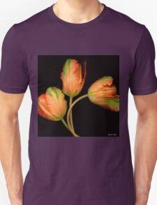 Orange Tulips Unisex T-Shirt
