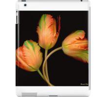 Orange Tulips iPad Case/Skin
