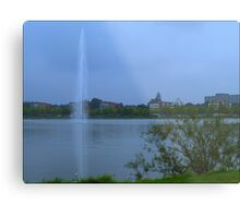 The Highest Fountain. Metal Print