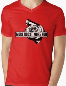 More boost Mens V-Neck T-Shirt
