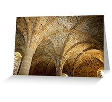 Ancient Ceiling Greeting Card