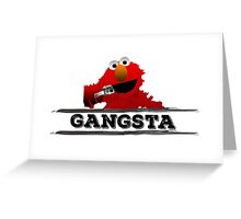 Gangsta Greeting Card