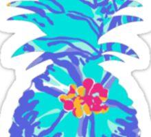 Lilly Pulitzer Inspired Pineapple Mai Tai Sticker