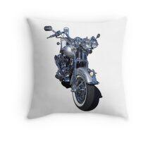 Harley Davidson Motorcycle Throw Pillow