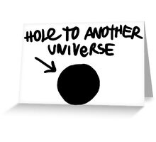 Hole To Another Universe Graffiti (Life is Strange)-- Level Greeting Card