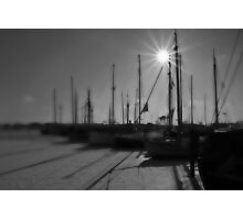 Harbor morning mood Photographic Print