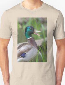 Mallard Duck Talking Unisex T-Shirt