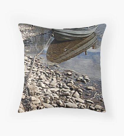 Tweed Boat Throw Pillow
