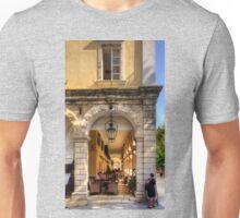 Perusing the Menu Unisex T-Shirt