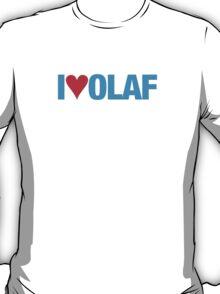 Frozen - I love Olaf T-Shirt