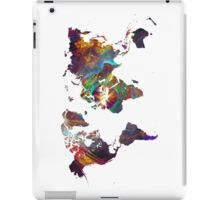 World Map fractal 2 iPad Case/Skin