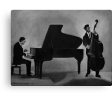 Jazz duo Canvas Print